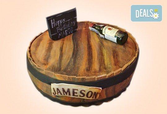 За любимия мъж! Торта за мъже с индивидуален дизайн и размери по избор от Сладкарница Джорджо Джани - Снимка 2