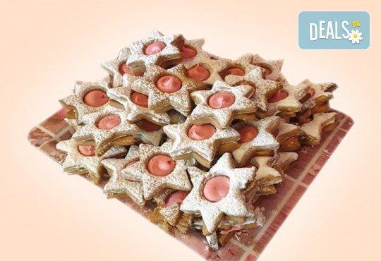 Сладки на килограм! 1 кг. домашни гръцки сладки: седем различни вкуса сладки с шоколад, макадамия и кокос, майсторска изработка от Сладкарница Джорджо Джани - Снимка 3