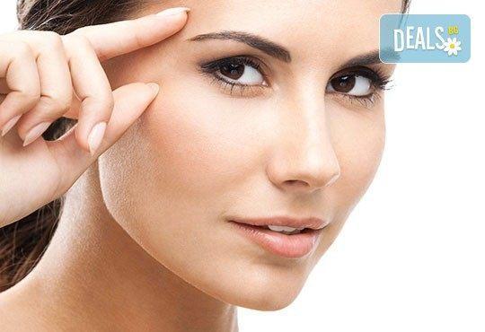 Почистване на лице с ултразвук, пилинг и масаж с Les Complexes Biotechniques и терапия в The Castle of beauty - Снимка 3