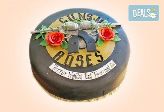С Вашия бранд! Фирмена торта с лого и индивидуален дизайн от Сладкарница Джорджо Джани - Снимка 20