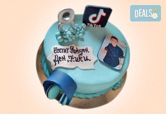 С Вашия бранд! Фирмена торта с лого и индивидуален дизайн от Сладкарница Джорджо Джани - Снимка 3