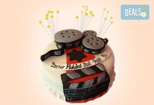 С Вашия бранд! Фирмена торта с лого и индивидуален дизайн от Сладкарница Джорджо Джани - Снимка 24