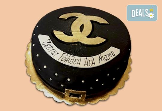 С Вашия бранд! Фирмена торта с лого и индивидуален дизайн от Сладкарница Джорджо Джани - Снимка 12