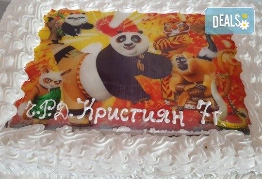 Експресна торта! Торта 20/ 25/ 30 парчета със снимка от Джорджо Джани