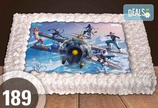 Експресна торта от днес за днес! Голяма детска торта 20, 25 или 30 парчета със снимка на любим герой от Сладкарница Джорджо Джани - Снимка 85
