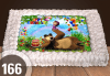 Експресна торта от днес за днес! Голяма детска торта 20, 25 или 30 парчета със снимка на любим герой от Сладкарница Джорджо Джани - thumb 69