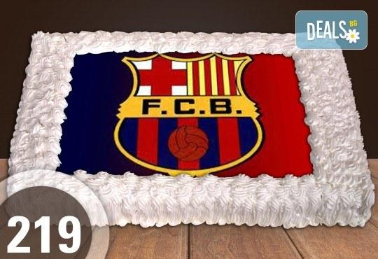 Експресна торта от днес за днес! Голяма детска торта 20, 25 или 30 парчета със снимка на любим герой от Сладкарница Джорджо Джани - Снимка 113