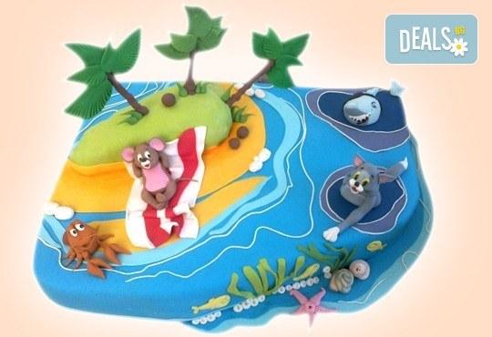 Детска АРТ торта с фигурална 3D декорация с любими на децата герои от Сладкарница Джорджо Джани - Снимка 78
