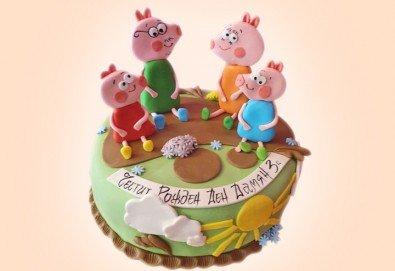 Детска АРТ торта с фигурална 3D декорация с любими на децата герои от Сладкарница Джорджо Джани - Снимка
