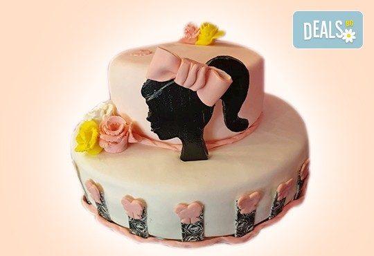 За момичета! Красиви 3D торти за момичета с принцеси и приказни феи + ръчно моделирана декорация от Сладкарница Джорджо Джани - Снимка 21