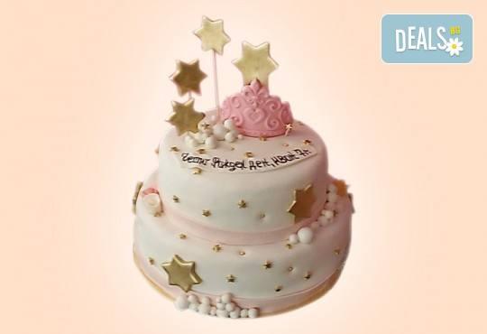 За момичета! Красиви 3D торти за момичета с принцеси и приказни феи + ръчно моделирана декорация от Сладкарница Джорджо Джани - Снимка 109