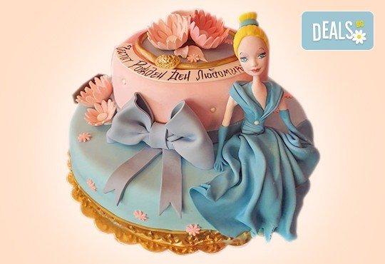 За момичета! Красиви 3D торти за момичета с принцеси и приказни феи + ръчно моделирана декорация от Сладкарница Джорджо Джани - Снимка 10