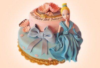 За момичета! Красиви 3D торти за момичета с принцеси и приказни феи + ръчно моделирана декорация от Сладкарница Джорджо Джани - Снимка