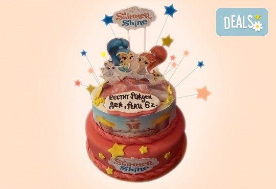 За момичета! Красиви 3D торти за момичета с принцеси и приказни феи + ръчно моделирана декорация от Сладкарница Джорджо Джани - Снимка 13