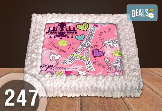 Торта за момичета! Красиви торти със снимкa с герои от любим филм за малки и големи госпожици от Сладкарница Джорджо Джани - Снимка 3