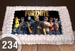 За момче! Торти за момчета: вземете голяма торта 20/ 25/ 30 парчета със снимка на герои от любимите детски филмчета - Нинджаго, Костенурките Нинджа, Спайдърмен и други от Сладкарница Джорджо Джани - Снимка