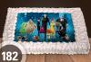 За момче! Торти за момчета: вземете голяма торта 20/ 25/ 30 парчета със снимка на герои от любимите детски филмчета - Нинджаго, Костенурките Нинджа, Спайдърмен и други от Сладкарница Джорджо Джани - thumb 45