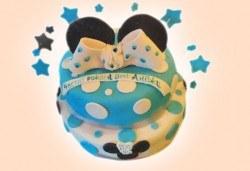 Party торта с фигурална 3D декорация за деца и възрастни от Сладкарница Джорджо Джани - Снимка