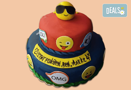Party торта с фигурална 3D декорация за деца и възрастни от Сладкарница Джорджо Джани - Снимка 1