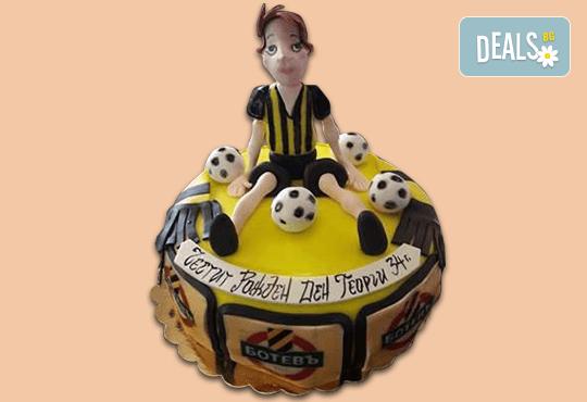 За спорта! Торти за футболни фенове, геймъри и почитатели на спорта от Сладкарница Джорджо Джани - Снимка 21