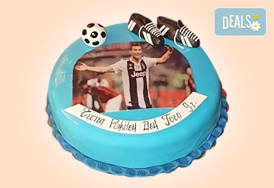 За спорта! Торти за футболни фенове, геймъри и почитатели на спорта от Сладкарница Джорджо Джани - Снимка 3