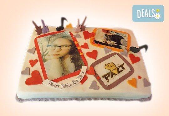 За музиканти! Торта за DJ, музиканти, певци, художници и артисти от Сладкарница Джорджо Джани - Снимка 16