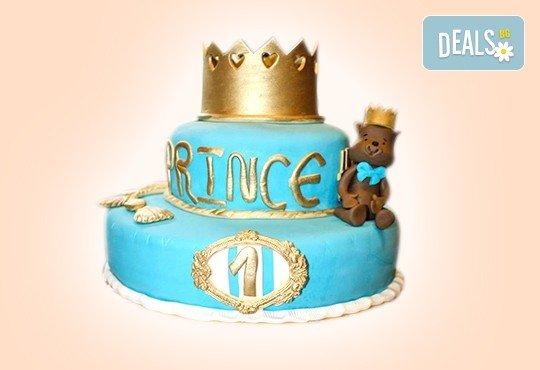 Торта за принцеси! Торти за момичета с 3D дизайн с еднорог или друг приказен герой от сладкарница Джорджо Джани - Снимка 28