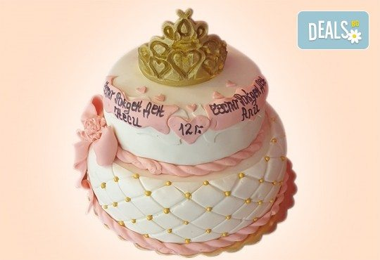 Торта за принцеси! Торти за момичета с 3D дизайн с еднорог или друг приказен герой от сладкарница Джорджо Джани - Снимка 24