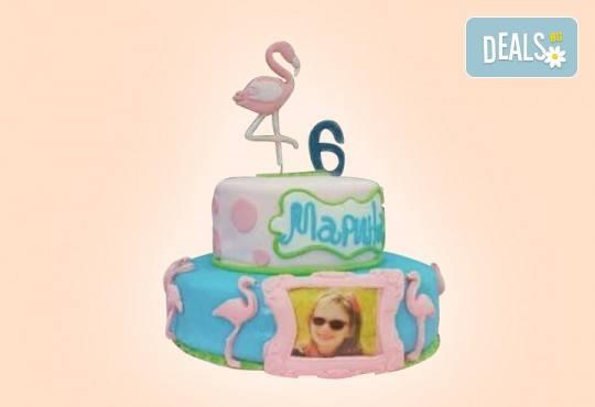 Торта за принцеси! Торти за момичета с 3D дизайн с еднорог или друг приказен герой от сладкарница Джорджо Джани - Снимка 16