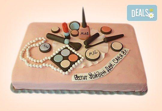 Бъди професионалист! Торта за професионалисти: вкусна торта за фризьори, IT специалисти, съдии, футболисти, режисьори, музиканти и други професии от Сладкарница Джорджо Джани - Снимка 1