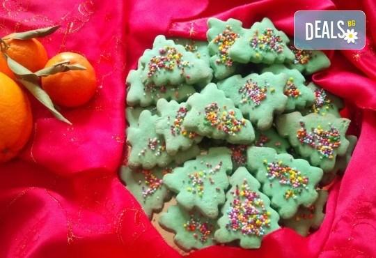 За Коледа! 25 броя коледни декорирани елхи от Сладкарница Джорджо Джани! - Снимка 2