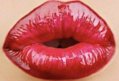 Уголемяване на устни с 1мл хиалуронов филър извършено от лекар-специалист в Медицински център за медико-естетични процедури! - Снимка