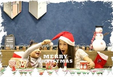 Луксозна Коледна фотосесия в Concept store Камко с реални декори на домашна, празнична атмосфера от фотограф Стефан Димитров - Снимка