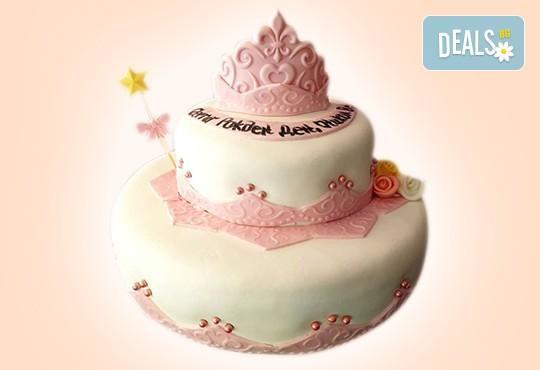 25 парчета! Голяма детска 3D торта с фигурална ръчно изработена декорация от Сладкарница Джорджо Джани - Снимка 56