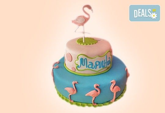 25 парчета! Голяма детска 3D торта с фигурална ръчно изработена декорация от Сладкарница Джорджо Джани - Снимка 2