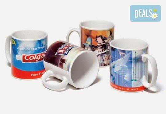 За Вашия бизнес! Рекламни чаши с лого и/ или снимка, пълноцветен печат и надпис: 30, 50 или 100 броя от Офис 2 - Снимка 3