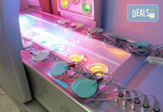 Космическо СПА преживяване! СПА капсула с LED светлина, цялостен релаксиращ масаж с шоколад или боровинка и терапия за лице от Senses Massage & Recreation - Снимка 2