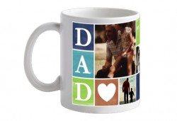Подарете с любов! 1 или 3 броя Семейна чаша със снимка и надпис, предложение от Офис 2 - Снимка
