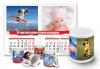 Лимитирана промоция! 13-листов календар със снимки на клиента + керамична чаша със снимка и пожелания от Офис 2 - thumb 1