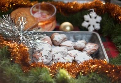 Подсладете Коледа с 1 или 2 плата изкусителни меденки - сърца с фондан от Кулинарна работилница Деличи - Снимка