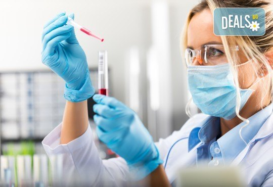 Изследване на ПКК: пълна кръвна картина и ДКК, СУЕ, CRP в СМДЛ