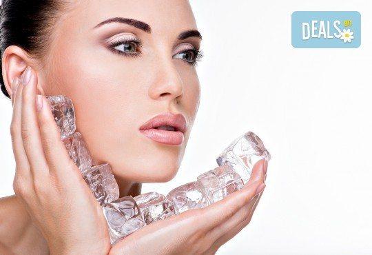 За сияйна кожа! Мануално почистване на лице, ултразвуков пилинг, дълбоко почистваща маска и криотерапия от Morea Beauty Studio - Снимка 2