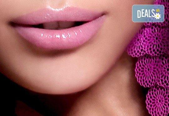 За чувствени устни! Безиглена мезотерапия за подобряване естествения обем на устните с хиалуронов мезококтейл от Morea Beauty Studio - Снимка 4