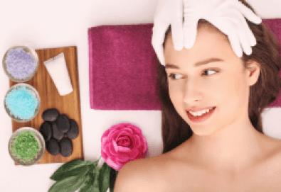 Парафин и билки! Подмладяваща терапия на лице с парафин + мануален масаж с масло от мурсалски чай от Senses Massage & Recreation - Снимка