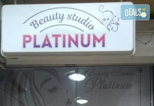 Маникюр с гел лак Black Bottle, 2 декорации и подарък сваляне на гел лак в Beauty Studio Platinum - Снимка 9