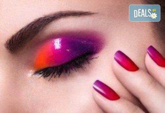 Перфектен цвят! Дълготраен маникюр с гел лак BlueSky в Салон Фемили (Inni Nails Art) - Снимка 1