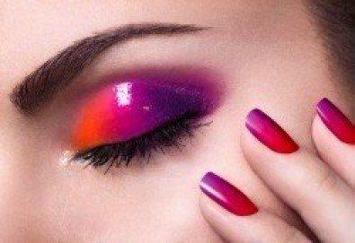 Перфектен цвят! Дълготраен маникюр с гел лак BlueSky в Салон Фемили (Inni Nails Art) - Снимка