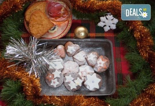 За празниците! Коледен сет с баница с късметчета, паричка, коледни курабии и декорирани меденки от Кулинарна работилница Деличи - Снимка 8