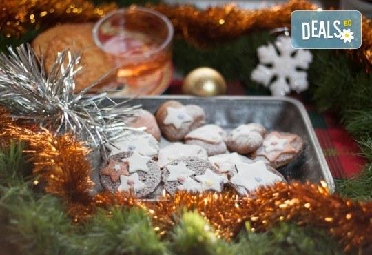 За празниците! Коледен сет с баница с късметчета, паричка, коледни курабии и декорирани меденки от Кулинарна работилница Деличи - Снимка 6