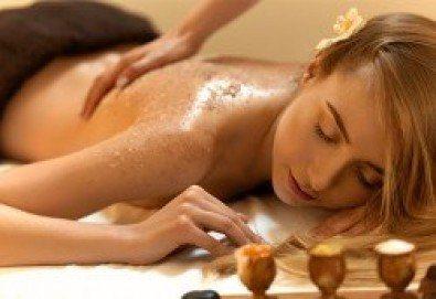 Арома масаж на гръб и ръце плюс зонотерапия на длани в Beauty Studio Platinum - Снимка